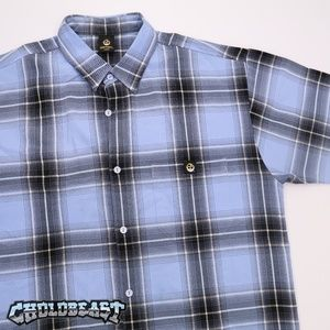 VTG y2k Lowrider Plaid Checkered Button up homies
